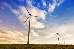 Турбины генератора ветра Стоковая Фотография