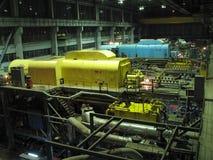 турбины пробок пара силы завода машинного оборудования Стоковые Изображения RF