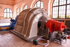 Турбины электростанции для производить электричество Rodi Fiesso стоковые фотографии rf