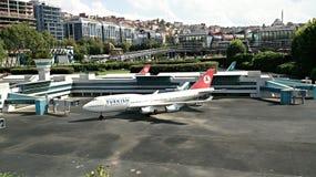 Турецкая авиакомпания Стоковое Изображение