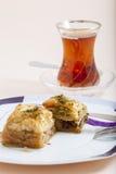 Турецкая бахлава десерта Стоковое Фото