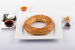 Турецкая еда печенья на деревянном Стоковая Фотография