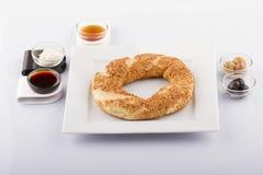 Турецкая еда печенья на деревянном Стоковое Изображение RF