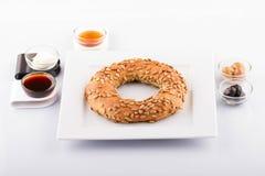 Турецкая еда печенья на деревянном Стоковые Изображения RF