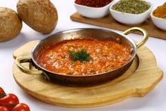 Турецкая еда Menemen Стоковые Фотографии RF