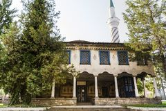 Турецкая мечеть в Болгарии Стоковое фото RF