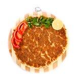 Турецкая пицца Стоковое Изображение