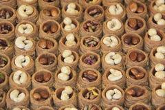 Турецкая помадка (Kadayif) Стоковое Фото