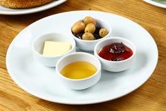 Турецкая плита завтрака Стоковая Фотография