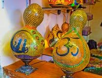 Турецкие лампы тыквы Стоковое фото RF