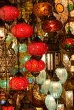 Турецкие лампы Стоковые Фото