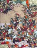 Турецкие войска атакуют силы Bîzhan стоковые изображения