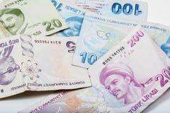Турецкие деньги Стоковые Фотографии RF