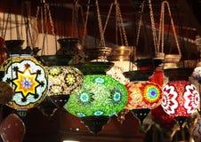 Турецкие светильники Стоковое Изображение
