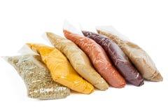 Турецкие специи в пакете стоковое изображение rf