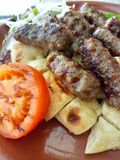 Турецкие шарики мяса стоковые фото