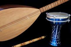 Турецкие instrumans музыки стоковые изображения