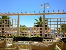 Турецкий курорт морем Стоковое Изображение