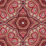 Турецкий орнамент, безшовная картина Стоковые Фотографии RF