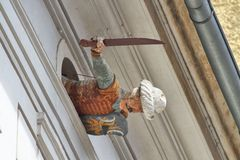 Турецкий ратник Palais Saurau, Грац Австрия Стоковое фото RF