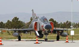 Турецкий фантом военновоздушной силы Стоковое Фото