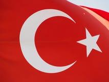 Турецкий флаг стоковые фото