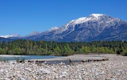 Турецкий чабан в горах Стоковое Фото