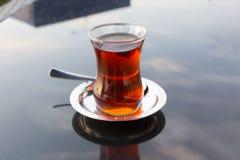 турецкий чай и восточная традиция Стоковая Фотография RF