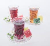 Турецкий чай Стоковые Фотографии RF