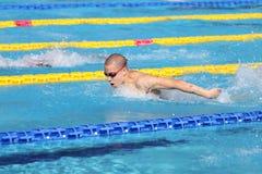 Турецкий чемпионат заплывания Стоковые Фото