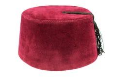 Турецкий fez, традиционный шлем тахты стоковые изображения