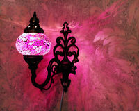 Турецкий handmade светильник Стоковая Фотография