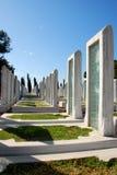 Турецкое воинское кладбище Стоковые Изображения