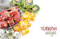 Турецкое наслаждение стоковая фотография rf