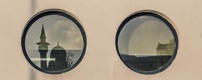 Турецкое отражение мечети Стоковое Фото