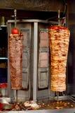 Турецкое doner цыпленка и мяса Стоковые Изображения