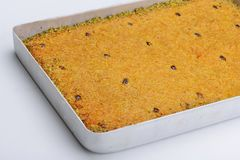 Турецкое kadaif печенья Стоковое фото RF