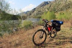 Туризм велосипеда Стоковое Изображение