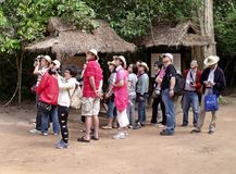 Туризм в действии интереса Стоковые Изображения