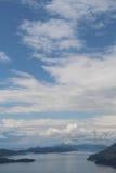 Туризм в островах Хорватии/Elaphiti Стоковое фото RF