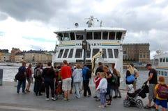 Туризм в Стокгольме Стоковая Фотография