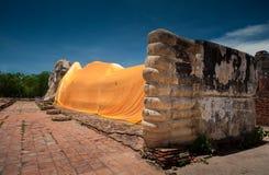 Туризм в Ayutthaya, Таиланде Стоковая Фотография