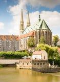 Туризм в Goerlitz Стоковые Изображения RF