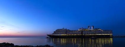 Туризм гавани туристического судна Стоковое Изображение