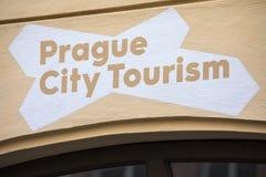 Туризм города Праги Стоковое фото RF