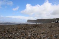 Туризм Йоркшир побережья стоковое изображение