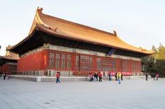 Туризм Китая. Старые архитектурноакустические здания. стоковая фотография