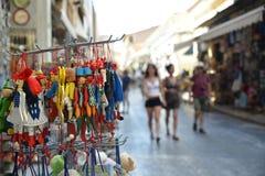 Туризм назначения Афин Греции Acropolistravel Стоковые Фото