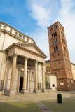 ТУРИН, ИТАЛИЯ - 14-ОЕ МАРТА 2017: Барочное della Consolata Santuario церков Стоковые Изображения