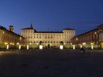 Турин - королевский дворец Стоковая Фотография